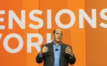 CEO Aron Ain unveils Workforce Dimensions at KronosWorks 2017