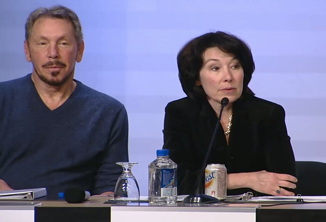 Larry Ellison and Safra Catz discuss how Oracle Cloud Energizes Enterprise Essentials to Speed Global Recovery